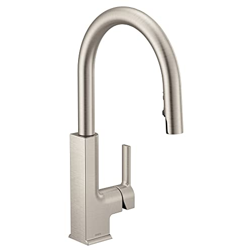 Kitchen Faucets Lovely Price Moen S72308srs Sto One Handle High Arc Pulldown Kitchen Faucet
