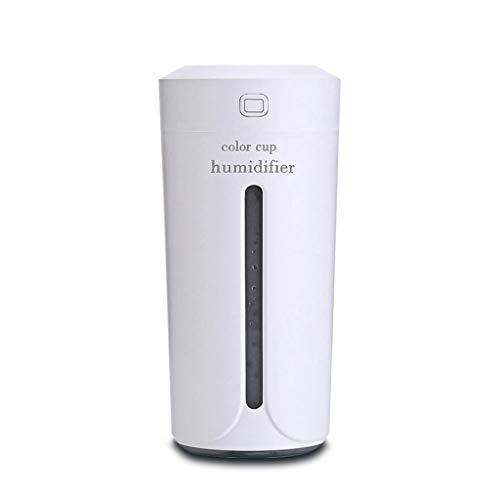 XXW ultrasone luchtbevochtiger, etherische olie, diffuser met 7 kleuren, elektrische aromatherapie, USB-luchtbevochtiger, luchtbevochtiger