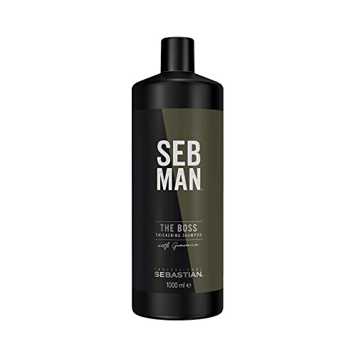 SEB MAN The Boss Thickening Shampoo, 1er Pack (1 x 1000 ml)