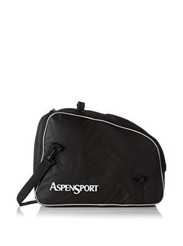 AspenSport Skischuhe und Helmtasche Rucksack, schwarz, 53 x 26 x 39 cm, 53 Liter