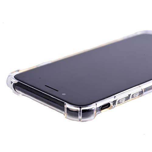 GANAN Funda Compatible con iPhone 7 Plus/ 8 Plus, Anti-Rasgunos,Transparente, Anti-Choques, Carcasa Funda (iPhone 7Plus /8Plus)