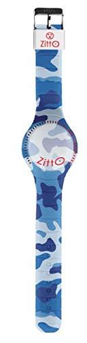 Orologio ZITTO grande a led con cinturino in silicone Limited Edition DEEPSEA G