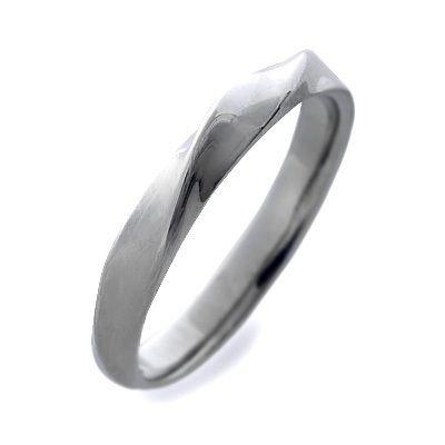 [フェフェ] ステンレス リング 指輪 ホワイト 15.0号 FE-204-15