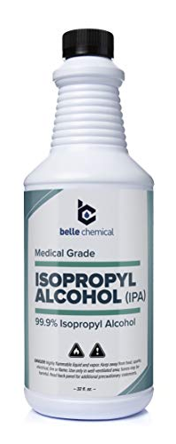 Medical Grade Alcohol - No Methanol - No Foul Odor - Meets USP Specifications - Approved for Hand and Skin Application (32oz) (1 Bottle (32oz))