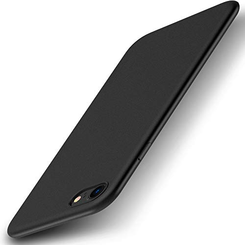 X-level iPhone 8 Hülle, iPhone 7 Hülle, [Guardian Serie] Soft Flex TPU Case Ultradünn Handyhülle Silikon Bumper Cover Schutz Tasche Schale Schutzhülle für iPhone 7/ iPhone 8 4,7 Zoll - Schwarz