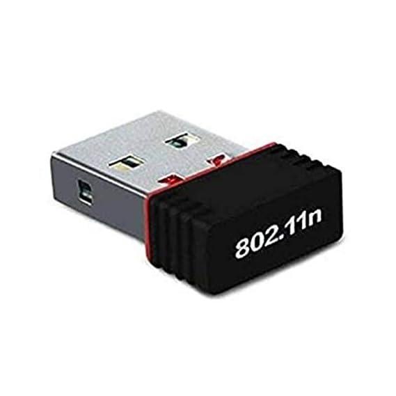 Terabyte 300Mbps Mini Wireless Wi-Fi Dongle/Adapter (Black)