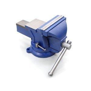 toolsisland(ツールズアイランド) バイス リードバイス 万力 回転式 125mm 3点固定 定盤付き 強力バイス 作業台
