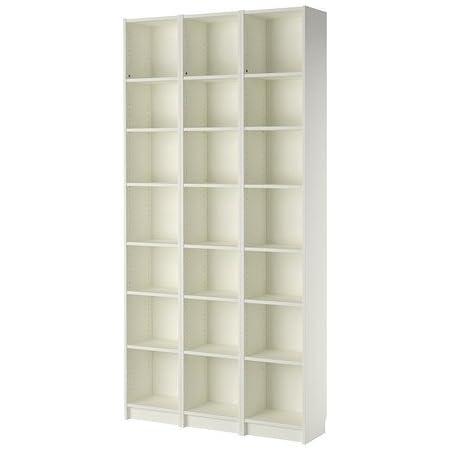 Ikea BILLY - Librería, blanco - 120x237x28 cm: Amazon.es: Hogar