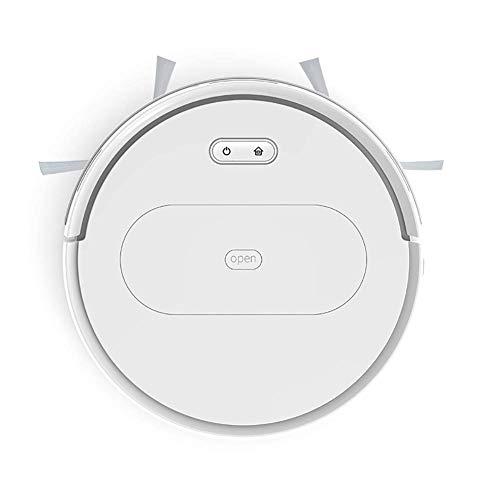 Robot Aspiradora, Wi-Fi, muy delgado y con 1800Pa succión, Límite tiras incluidas, tranquilas, la auto-robótico de carga aspiradora, Limpia duros pisos for Alfombras Medio-Pile, Negro liqiang96