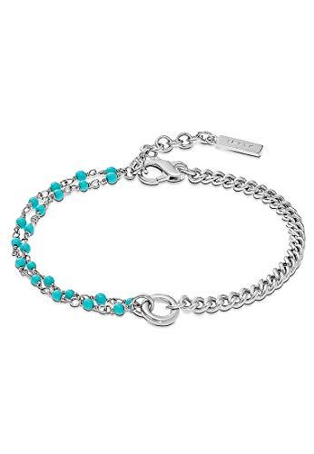 JETTE Silver Damen-Armband 925er Silber Türkis One Size 87647251