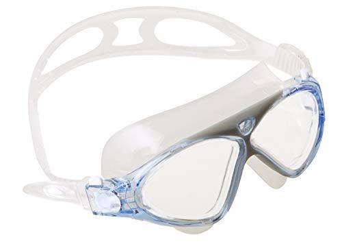 SEAC Vision JR Gafas de natación en la Piscina y en el mar, Unisex niños, Azul, Small