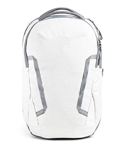 The North Face Vault Backpack Tnf White Metallic Melange/Mid Grey One Size
