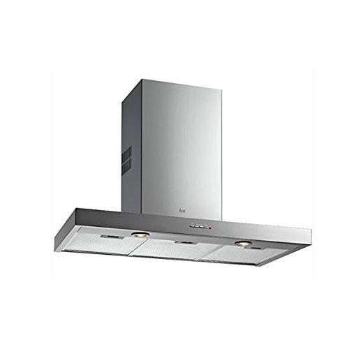 Teka DJE 90 De pared Acero inoxidable 405m³/h - Campana (405 m³/h, Canalizado, 44 dB, 52 dB, 54 dB, De pared): Amazon.es: Hogar