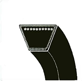 "XJ Replacement Belt 5/8""x 88"" for Allis Chalmers 105287,2027639 Dayco L588 Dixie Chopper 2006B85W,2010B85W,B85 Ford/New Holland65217 Gates 6988 Goodyear 85880 B85 Simplicity 105287,105287SM"