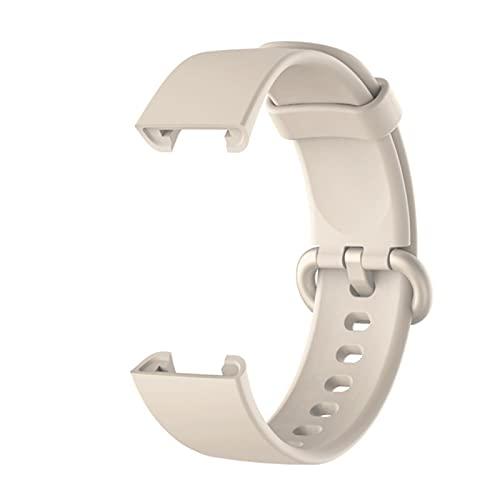 Correa de silicona para Xiaomi Mi Watch Lite Versión global Reloj inteligente Reemplazo de pulsera deportiva Pulsera para la correa de reloj Redmi