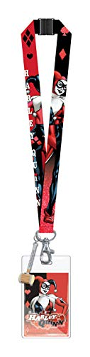 Harley Quinn Lanyard With Soft Touch Dangle