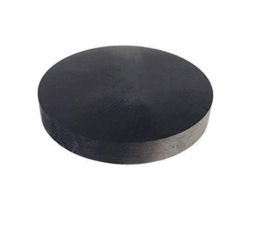 LLF 99,9% Reinheit Graphit Ingot Block EDM Graphit Platte Fräsfläche (70 mm x 10 mm)