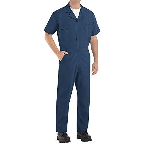 Red Kap Men's Speedsuit, Navy, Large/Tall