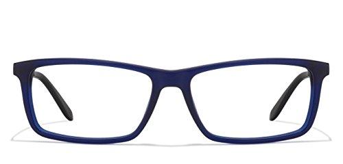 Carrera Brille (9914 FUC) Acetate Kunststoff - Metall blau geräuchert - ruthenium dunkel