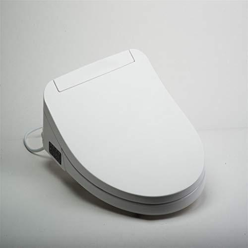 Asientos de inodoro de cierre suave Lanzamiento rápido para facilitar la limpieza, la fijación superior, manténgase fuerte de la tapa de la tapa del inodoro, con la tapa de la forma ovalada de doble f