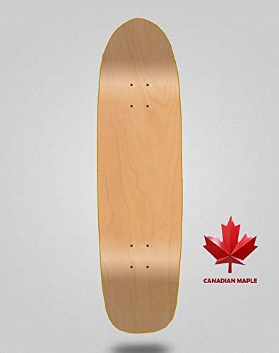 lordofbrands Monopatín Tablas Skate Skateboard Cruiser Longboard Decks Wood Madera Shapes (Skate Pool 8.5)