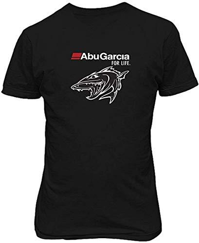LPXUN Abu Garcia for Life Fish Fishing Reel Hombre/Men's Camiseta/T Shirt XX-Large