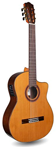 Cordoba C7-CE Cutaway Classical Acoustic-Electric Nylon String Guitar, Iberia Series