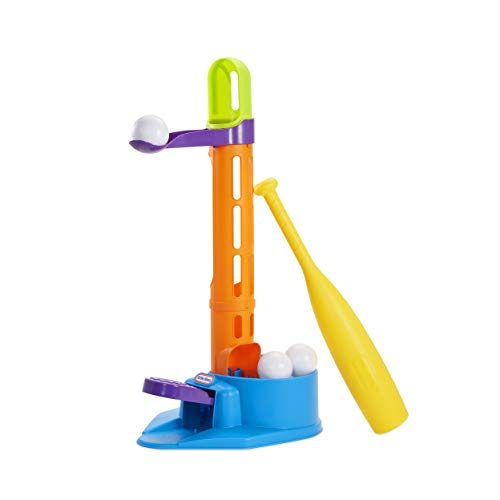 Little Tikes 3-in-1 Triple Splash T-Ball Set with 3 Balls