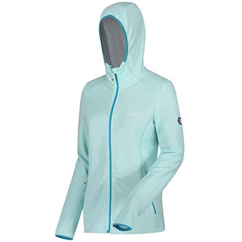 Regatta Womens Terota Hooded Sweatshirt, Cool Aqua, Large