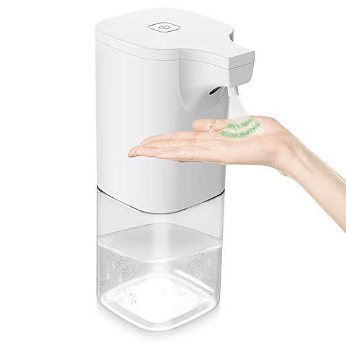 Automatisch Desinfektionsspender Automatisk Sprühspender mit Sensor Elektrischer Seifenspender Berührungslos 350ml für Badezimmer, Küchen, Hotel, Restaurant/öffentlicher Ort