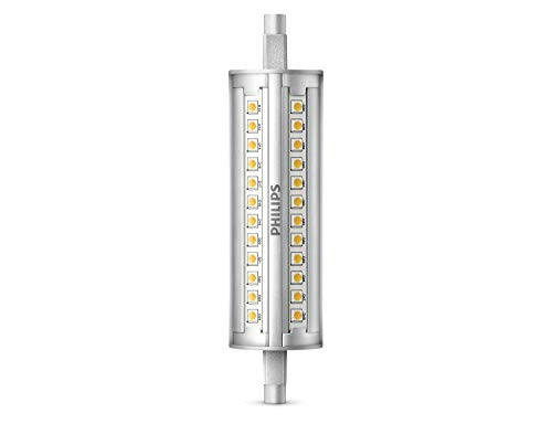 Philips Lampadina LED Lineare 118 mm, 100 W, Attacco R7S, 4000K, Dimmerabile