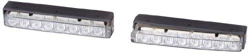 HELLA 2PT 980 860-801 LED-Tagfahrleuchtensatz - LEDayLine 15 - 12V - Einbau - Set