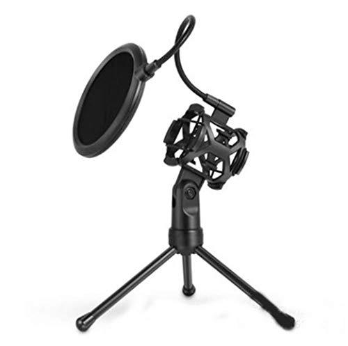 Verstelbare tafel microfoonstatief uitbarstingsvoorbehoedsmiddel Clamp Holder, Stand Tripod