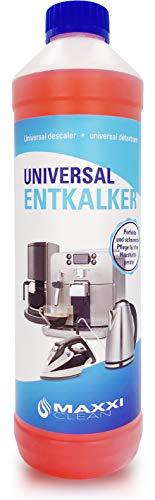Maxxi Clean Power Universal Entkalker für Ihren Kaffeevollautomaten | Für alle bekannten Marken geeignet | Kalklöser für extra gründliche Reinigung (1x 750 ml)