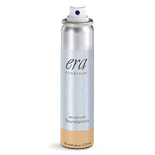 ERA Beauty Era Everyday Aerobrush Foundation Makeup, R6 Honey Ginger, 2.25 Oz