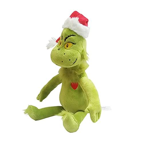 PANQQ Navidad Grinch Doctor 39CM Seuss Dibujos Animados Cosas Lindas muñeco de Peluche niños Regalo de cumpleaños