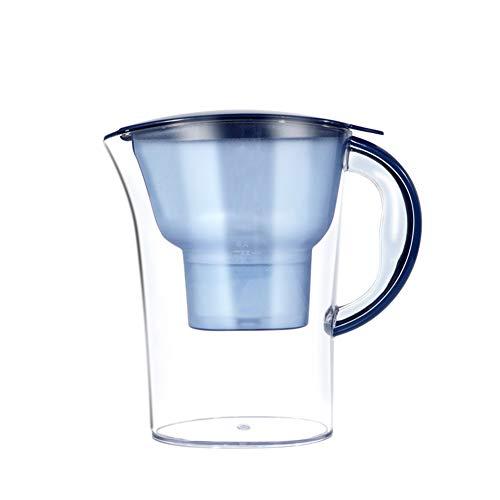 MHUI Filtro de Agua alcalina Jarra de Filtro Hervidor de Agua Hervidor de Agua portátil Hogar Cocina Grifo Filtro de Agua Filtro de carbón Activado Purificador de Agua 3.5L
