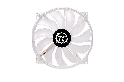 Thermaltake Pure 20 LED/Fan/200mm/800rpm/Black/LED Blue ケースクーラーファン 日本正規代理店品 FN717 CL-F016-PL20BU-A