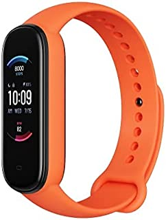 Amazfit Band 5 Fitness Tracker with Alexa Built-in, 15-Day Battery Life, Blood Oxygen, Heart Rate, Sleep Monitoring, Wome...