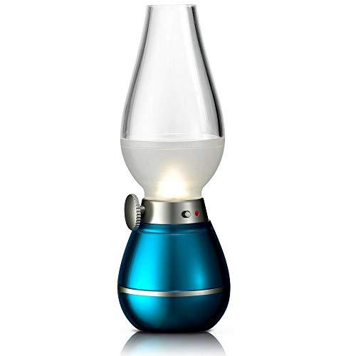 ACAMPTAR Retro Stil Led Petroleum Lampe Weht Control Lampe Schreibtisch Lampe Dimmbar Usb Wieder Aufladbare Nacht Licht Haus Dekoration