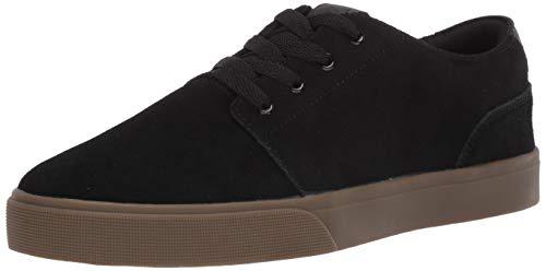 Osiris Bentley VLC - Zapatillas de skate para hombre, negro (negro (Black/Dark Gum)), 43 EU
