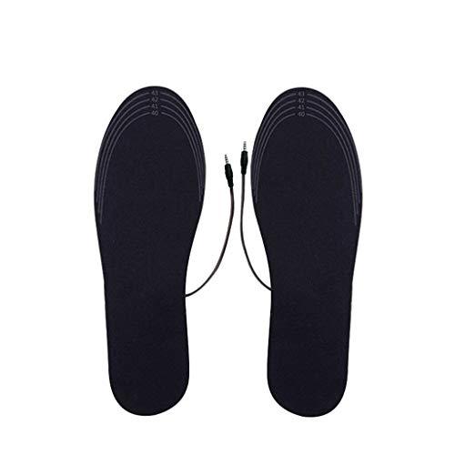 jieGorge Küche Essbar Räumungsverkauf,USB-Aufladung Elektrisch beheizte Einlegesohlen Pad Schuhe Stiefel Heizung Füße warm halten,Hacke Pad für Badezimmer Dekoration