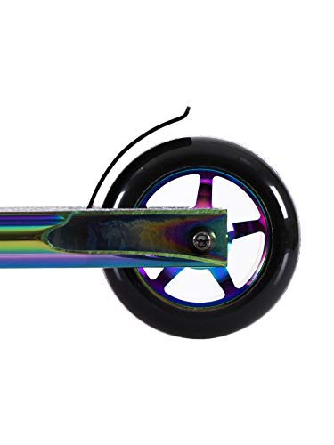 TBF Gold Model Stunt Scooter/Street Stunt Scooter 360 (Full Neochrome)