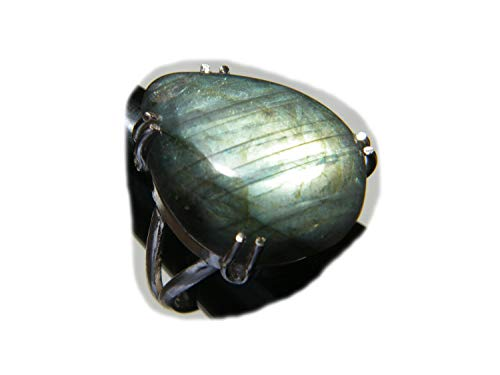 The Best Jwelley Labradorite Ring, Silver Plated Ring, Handmade Ring, Women Jewelry, Gemstone Ring (Size- 9 USA) BRS-4806