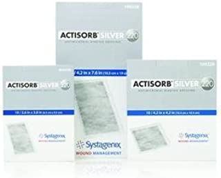 ACTISORB Silver 220 Antimicrobial Binding Dressing 4.2