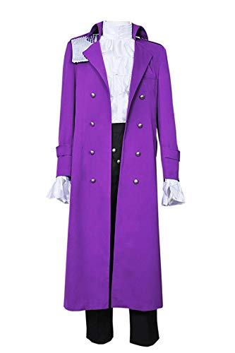 * Best Quality * Purple Rain Prince Rogers Nelson Cosplay Costume Full Set for Men. S, M, L, XL or Tailor Made