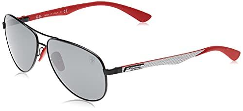 Ray-Ban 0RB8313M Gafas de Sol, Black, 40 para Hombre