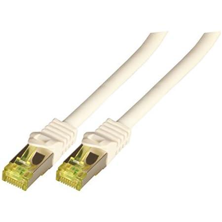 Bigtec 0 50m Cat 7 Ethernet Lan Patchkabel Gigabit Computer Zubehör