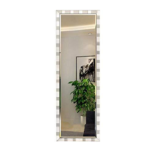 Household Necessities/motief bamboe frame waterdicht spiegel kleding lichaam dressing winkel spiegel wandmontage spiegel champagne jurk volledige lengte spiegel 150*50CM Champagne