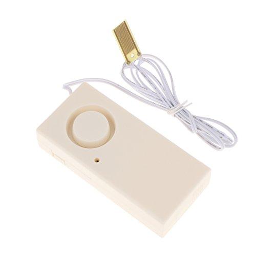 perfk Alarma de Agua de Plástico para Protección Del Hogar